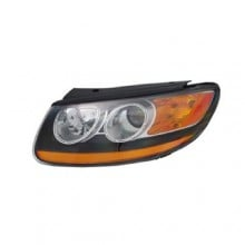 2010 - 2012 Hyundai Santa Fe Front Headlight Assembly Replacement Housing / Lens / Cover - Left (Driver) Side