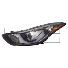 2014 - 2016 Hyundai Elantra Front Headlight Assembly Replacement Housing / Lens / Cover - Left (Driver) Side