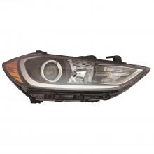 2017 - 2018 Hyundai Elantra Headlight Assembly - Left (Driver) (CAPA Certified)