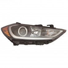 2017 - 2018 Hyundai Elantra Headlight Assembly - Left (Driver)