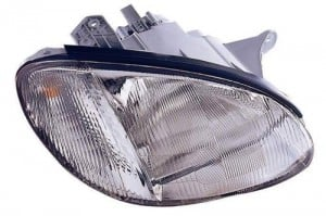 1999 - 2001 Hyundai Sonata Front Headlight Assembly Replacement Housing / Lens / Cover - Right (Passenger) Side
