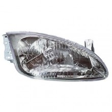 1999 Hyundai Elantra Front Headlight Assembly Replacement Housing / Lens / Cover - Right (Passenger) Side