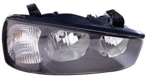 2001 - 2003 Hyundai Elantra Front Headlight Assembly Replacement Housing / Lens / Cover - Right (Passenger) Side - (4 Door; Sedan)