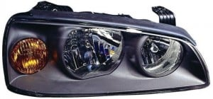 2004 -  2006 Hyundai Elantra Front Headlight Assembly Replacement Housing / Lens / Cover - Right (Passenger) Side