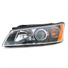 2006 -  2008 Hyundai Sonata Front Headlight Assembly Replacement Housing / Lens / Cover - Right (Passenger) Side