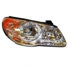 2007 -  2009 Hyundai Elantra Front Headlight Assembly Replacement Housing / Lens / Cover - Right (Passenger) Side - (Sedan)