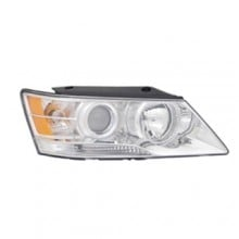 2009 -  2010 Hyundai Sonata Front Headlight Assembly Replacement Housing / Lens / Cover - Right (Passenger) Side