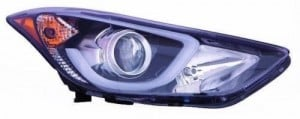2014 -  2016 Hyundai Elantra Headlight Assembly (NSF Certified) - Right (Passenger) Side Replacement