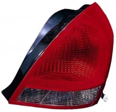 2001 - 2003 Hyundai Elantra Rear Tail Light Assembly Replacement / Lens / Cover - Left (Driver) Side - (4 Door; Sedan)