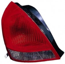 2001 - 2003 Hyundai Elantra Rear Tail Light Assembly Replacement / Lens / Cover - Right (Passenger) Side - (4 Door; Sedan)