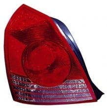 2004 -  2006 Hyundai Elantra Rear Tail Light Assembly Replacement / Lens / Cover - Right (Passenger) Side - (4 Door; Sedan)