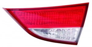 2011 -  2013 Hyundai Elantra Rear Tail Light Assembly Replacement / Lens / Cover - Right (Passenger) Side Inner - (Sedan)