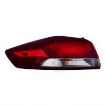 2017 - 2018 Hyundai Elantra Tail Light Assembly - Left (Driver) Side Outer - (GL 2.0L L4 Sedan + Limited 2.0L L4 Sedan + SE 2.0L L4 Sedan + GLS 2.0L L4 Sedan + L 2.0L L4 Sedan + LE 2.0L L4 Sedan + Ultimate 2.0L L4 Sedan + Eco 1.4L L4 Sedan + GLS Premium 2.0L L4 Sedan) Replacement