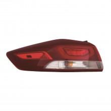 2017 - 2018 Hyundai Elantra Tail Light Rear Lamp - Left (Driver) (NSF Certified)