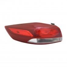 2017 - 2018 Hyundai Elantra Tail Light Rear Lamp - Left (Driver) (CAPA Certified)