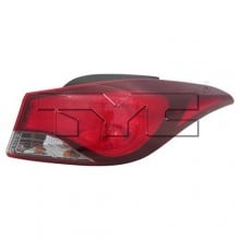 2014 -  2016 Hyundai Elantra Rear Tail Light Assembly Replacement / Lens / Cover - Right (Passenger) Side Outer