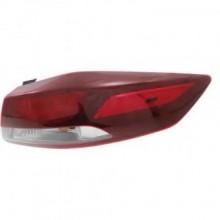 2017 Hyundai Elantra Tail Light Rear Lamp - Right (Passenger)