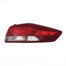 2017 - 2018 Hyundai Elantra Tail Light Rear Lamp - Right (Passenger)