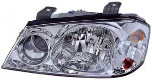 2001 -  2002 Kia Optima Front Headlight Assembly Replacement Housing / Lens / Cover - Left (Driver) Side