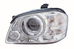 2005 -  2006 Kia Optima Front Headlight Assembly Replacement Housing / Lens / Cover - Left (Driver) Side