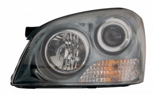 2006 -  2007 Kia Optima Front Headlight Assembly Replacement Housing / Lens / Cover - Left (Driver) Side