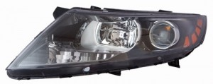 2011 -  2014 Kia Optima Front Headlight Assembly Replacement Housing / Lens / Cover - Left (Driver) Side