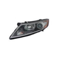 2011 - 2013 Kia Optima Front Headlight Assembly Replacement Housing / Lens / Cover - Left (Driver) Side - (Gas Hybrid)