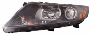2012 -  2013 Kia Optima Front Headlight Assembly Replacement Housing / Lens / Cover - Left (Driver) Side