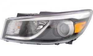 2017 Kia Sedona Headlight Embly Nsf Certified Left Driver Side Replacement