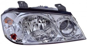 2001 -  2002 Kia Optima Front Headlight Assembly Replacement Housing / Lens / Cover - Right (Passenger) Side