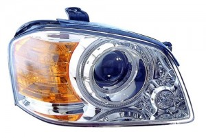 2003 -  2004 Kia Optima Front Headlight Assembly Replacement Housing / Lens / Cover - Right (Passenger) Side