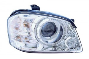 2005 - 2006 Kia Optima Front Headlight Assembly Replacement Housing / Lens / Cover - Right (Passenger) Side
