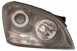 2006 - 2007 Kia Optima Front Headlight Assembly Replacement Housing / Lens / Cover - Right (Passenger) Side