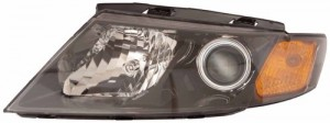 2009 - 2010 Kia Optima Front Headlight Assembly Replacement Housing / Lens / Cover - Right (Passenger) Side