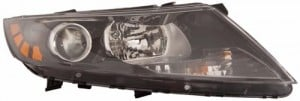 2011 Kia Optima Front Headlight Assembly Replacement Housing / Lens / Cover - Right (Passenger) Side