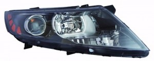 2011 - 2014 Kia Optima Front Headlight Assembly Replacement Housing / Lens / Cover - Right (Passenger) Side