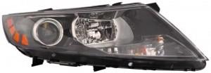 2011 - 2013 Kia Optima Headlight Assembly - Right (Passenger)