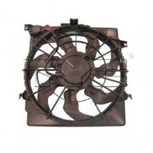 2011 - 2014 Kia Optima Engine / Radiator Cooling Fan Assembly - (2.0L L4) Replacement