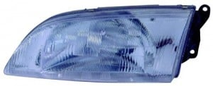 1998 - 1999 Mazda 626 Front Headlight Assembly Replacement Housing / Lens / Cover - Left (Driver) Side