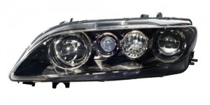 2003 -  2005 Mazda 6 Front Headlight Assembly Replacement Housing / Lens / Cover - Left (Driver) Side