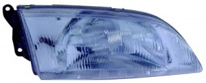 1998 - 1999 Mazda 626 Front Headlight Assembly Replacement Housing / Lens / Cover - Right (Passenger) Side