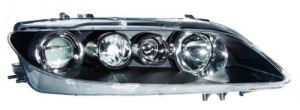 2006 - 2008 Mazda 6 Front Headlight Assembly Replacement Housing / Lens / Cover - Right (Passenger) Side