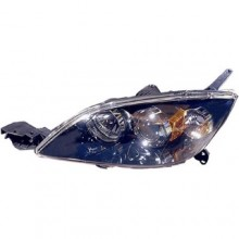 2004 - 2009 Mazda 3 Front Headlight Assembly Replacement Housing / Lens / Cover - Left (Driver) Side - (Hatchback)