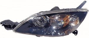2004 - 2005 Mazda 3 Front Headlight Assembly Replacement Housing / Lens / Cover - Left (Driver) Side - (Hatchback)