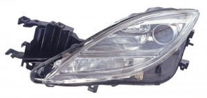 2009 - 2010 Mazda 6 Front Headlight Assembly Replacement Housing / Lens / Cover - Left (Driver) Side