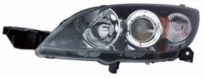 2006 - 2009 Mazda 3 Front Headlight Assembly Replacement Housing / Lens / Cover - Left (Driver) Side - (Hatchback)