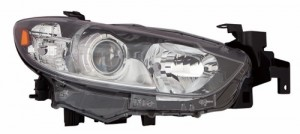 2014 -  2016 Mazda 6 Front Headlight Assembly Replacement Housing / Lens / Cover - Left (Driver) Side - (Sedan)