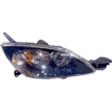 2004 - 2009 Mazda 3 Front Headlight Assembly Replacement Housing / Lens / Cover - Right (Passenger) Side - (Hatchback)