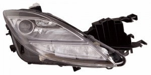 2009 -  2010 Mazda 6 Front Headlight Assembly Replacement Housing / Lens / Cover - Right (Passenger) Side