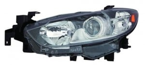 2014 -  2016 Mazda 6 Front Headlight Assembly Replacement Housing / Lens / Cover - Right (Passenger) Side - (Sedan)